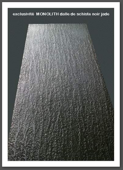 exclusivité MONOLITH aspect dalle de schiste noir jade, l'escalier flottant rompt avec la tradition de l'escalier imposant et massif. L'escalier suspendu droit, un quart tournant ou deux quart tournant, est de plus en plus plébiscité pour son allure aérienne et design jouant sur le style ultra-contemporain , il est présent dans tous les magazines de design high tech. ÉLÉGANCE et sobriété de l'escalier suspendu : son élégance et sa légèreté reposent sur un principe de construction originale : côté mûr, les marches sont directement ancrées dans la maçonnerie par un système de limon métallique caché par du placoplatre. La marche suspendue est confortable et silencieuse et, côté sécurité, les marches MONOLITH sont antidérapantes . EFFET SPECTACULAIRE Ce type d'escalier crée un rendu spectaculaire puisqu'il n'est constitué que des seules marches : le raffinement à l'état pur de ce système high tech. MÉLANGE DES MATIÈRES Les marches sont en résine minérale aspect béton ciré ou aspect pierre noire . on privilégie un garde-corps en verre qui met en valeur l'effet visuel des escaliers suspendus et des marches flottantes, un système LED incorporé à la marche suspendue viens donner un côté science-fiction à ce type d'escalier .