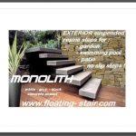 Floating-Outdoor-Patio-Stairs escalier suspendu pour jardin