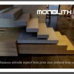 création d un caisson aspect bois taille au choix (votre plan 3D 7 jours)