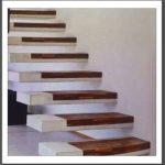 combinaison bois et béton - wood and concrete design aspect