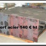 supports acier sur palette prix unitaire 140 € en stock permanent