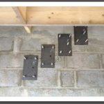 contre platine de l autre coté du mur pour parpaings creux 25 € ht