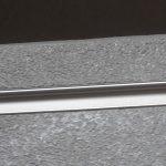 réglette intégrée dans le caisson pour le bandeau LED