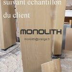 caisson aspect bois teinte suivant votre échantillon pour intérieur et extérieur